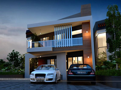 3d Township Rendering Visualization