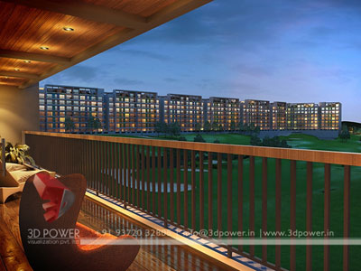 Long View 3d Rendering Tehran