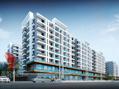 3d-architectural-visualization-services-apartment-parking-elevation