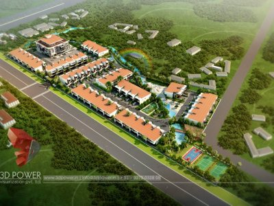 3d-designing-services-township-birds-eye-view