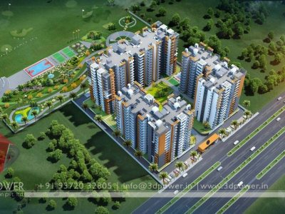 Township Birds Eye View Design