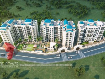 top-3d-walkthrough-rendering-township-birds-eye-view