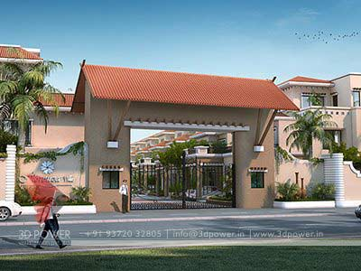 ... Residential Complex gate designs: entrance gate designs for township